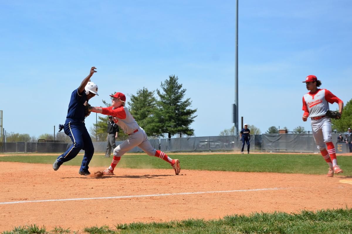 Sary Delivers Four Hits To DuPont Manual Crimsons Varsity Victory Over Elizabethtown