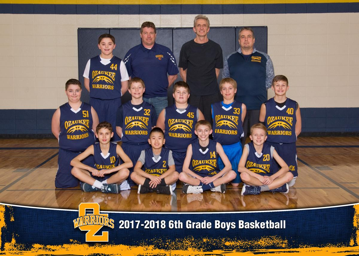 6th Grade Warriors Have Been Invited to State!