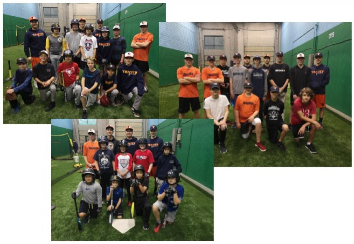 TC Thunder College Prep Players Give back..