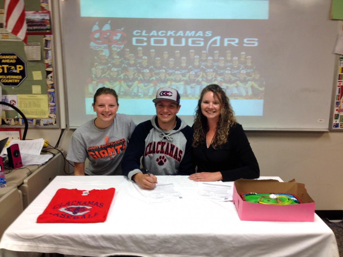 Brugman Signs With Clackamas