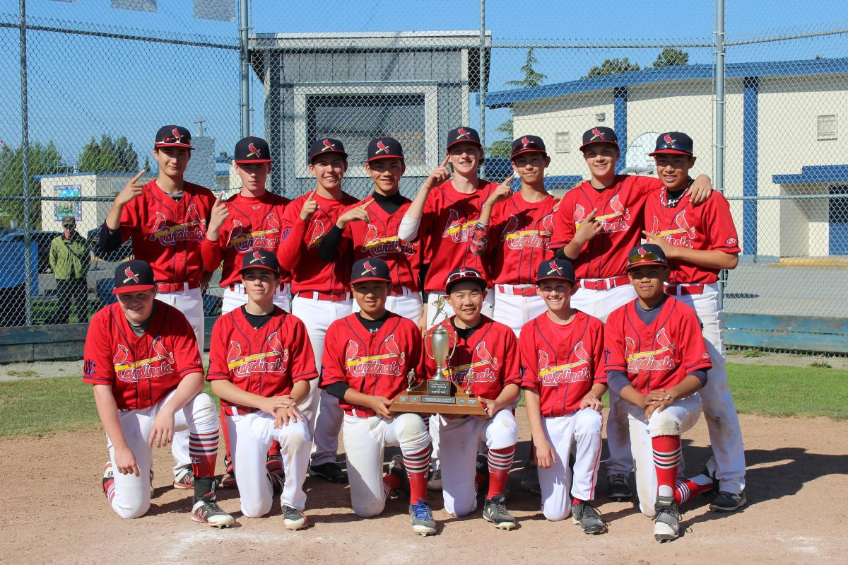 ANOTHER ONE! Early Ugly Pool Play Loss a Distant Memory as Cardinals Ride Great Pitching and Defence the Rest of the Way; The West Coast Cardinals are the 2018 RCBA Queen Victoria Invitational CHAMPS!