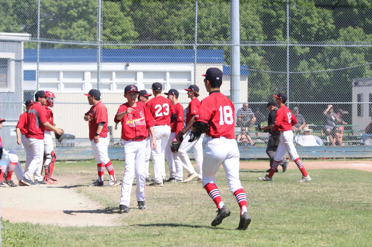 Cardinals Close Out Month of May with 4 Game Sweep of Cloverdale and Kamloops; West Coast Improves to 17-1 in League Play with 4-Game Weekend vs. Delta Orange on the Horizon