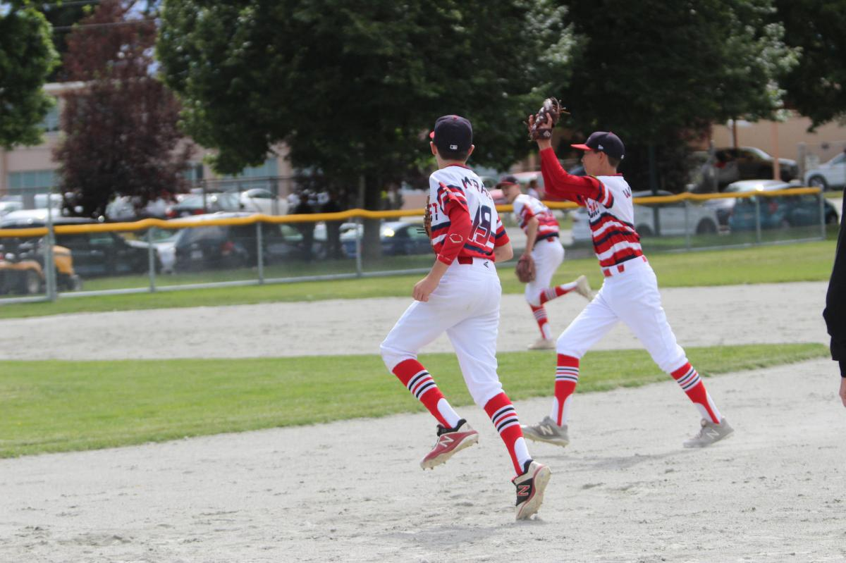 Cardinals Pick Up 4 More Ws During Inter-Tier Weekend; Sunday sees West Coast Stun Delta Orange with 5-run 7th while Hendriks Punctuates the 4-Game Sweep with Spectacular No-Hitter vs. Ridge Meadows
